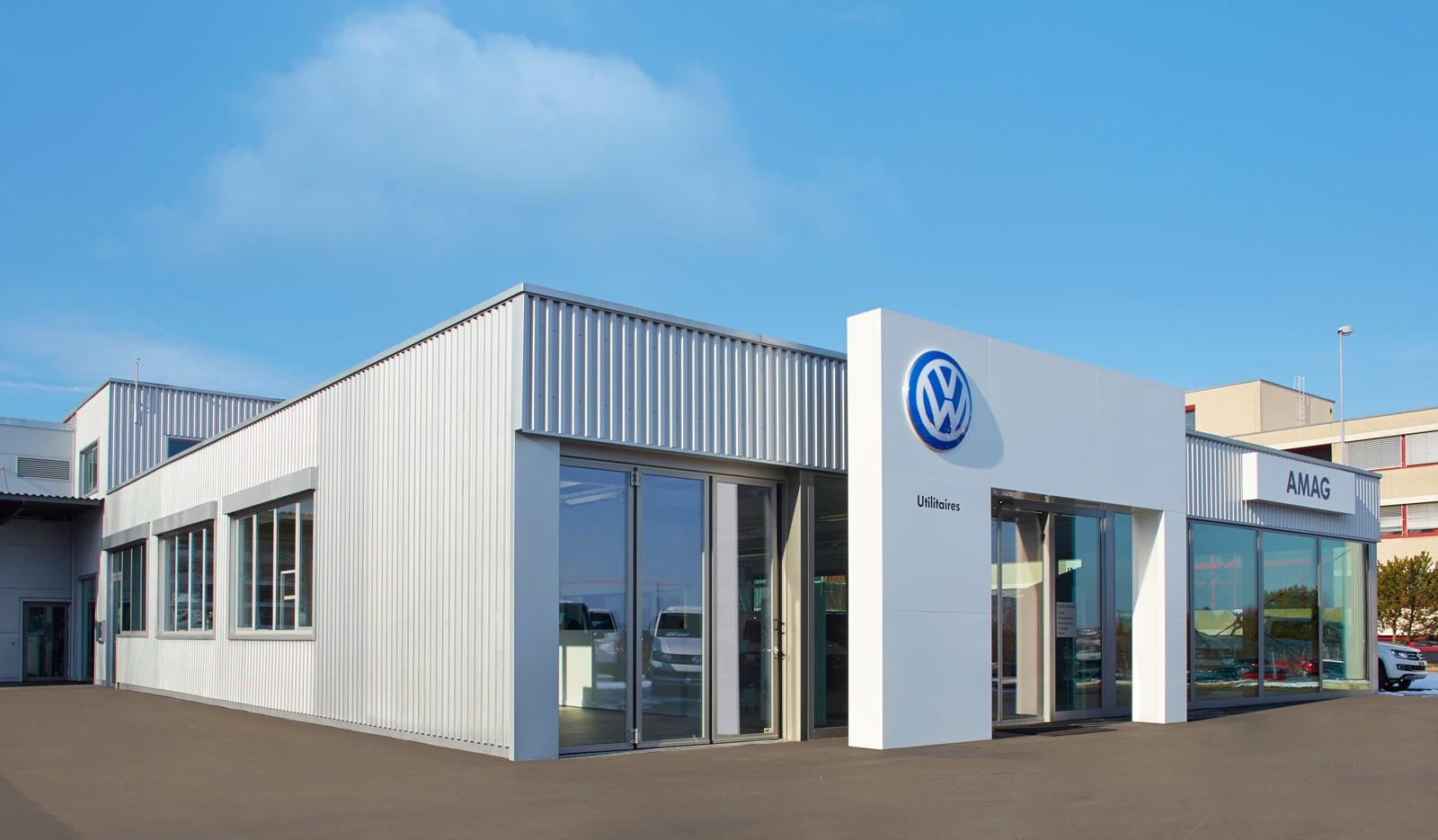 Volkswagen: Neues Nutzfahrzeug-Center in Givisiez - AutoSprintCH