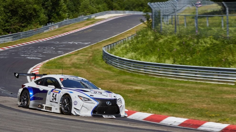 emil frey & toyota swiss racing 2016 bei vln am start - autosprintch