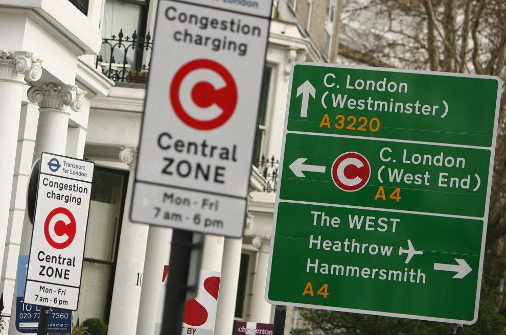 Картинки по запросу плата за въезд в центр лондона