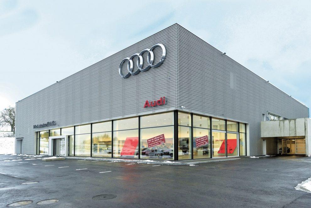 neuer audi sport store eingeweiht autosprintch