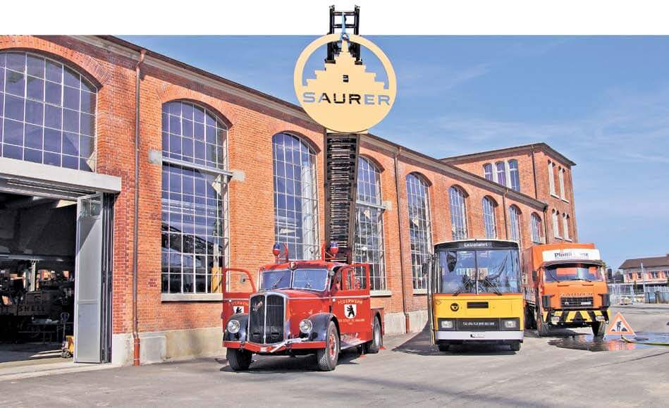 Saurer club frischer wind im depot autosprintch for Depot st gallen