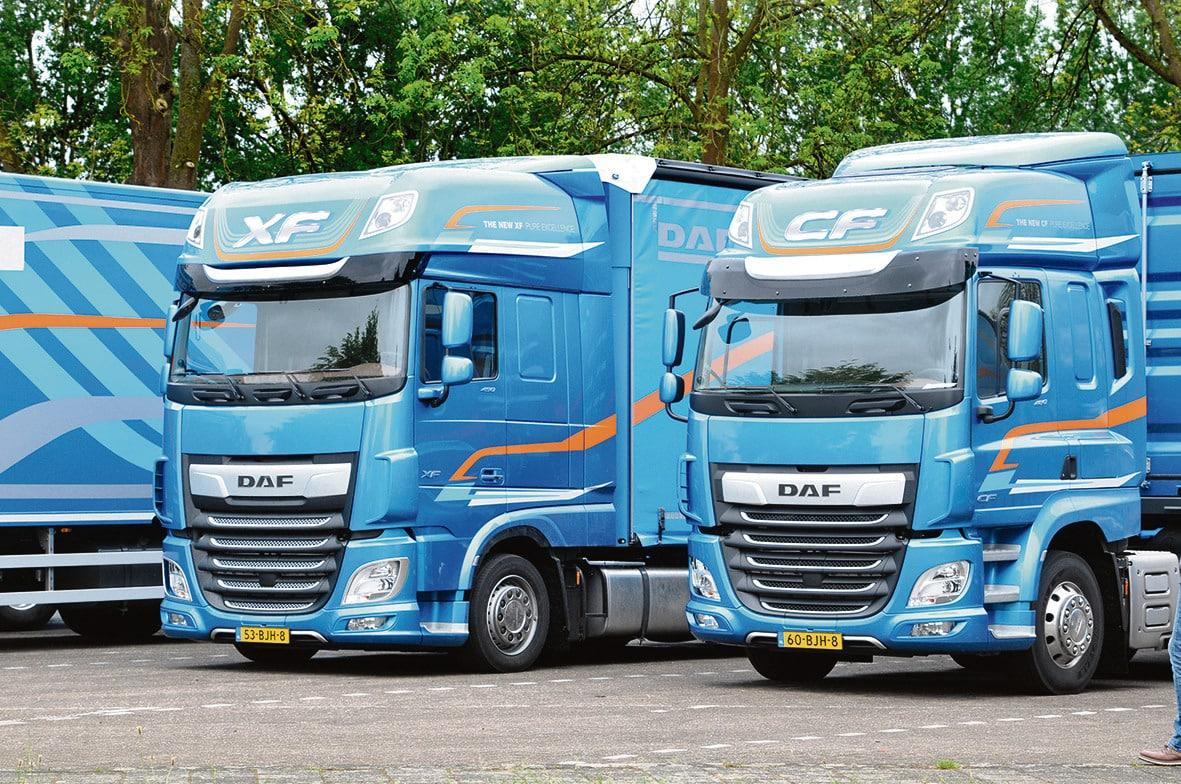 DAF CF/XF-Reihe wird LKW des Jahres 2018 - AutoSprintCH