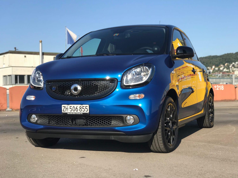 Smart Eq Das Elektroauto Mit Zukunft Autosprintch