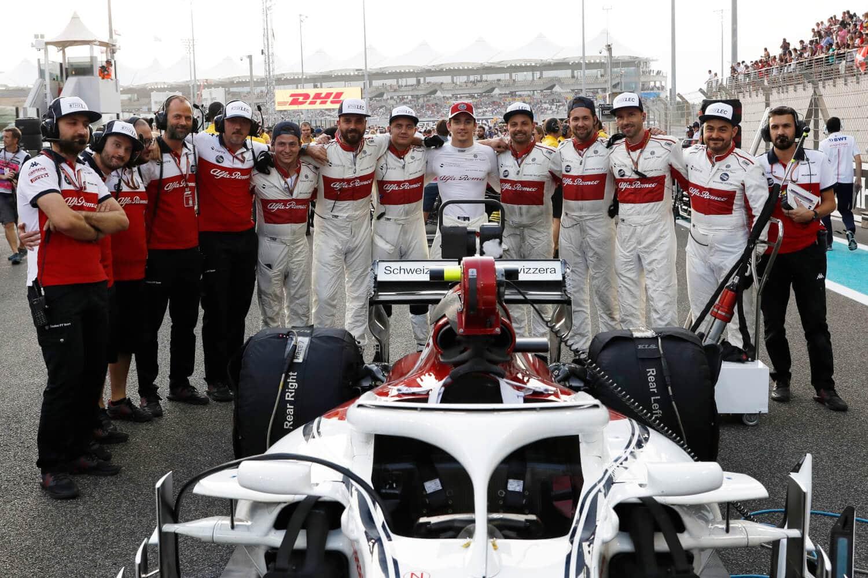 Alfa Sauber F1 Die Beste Motivation Für 2019