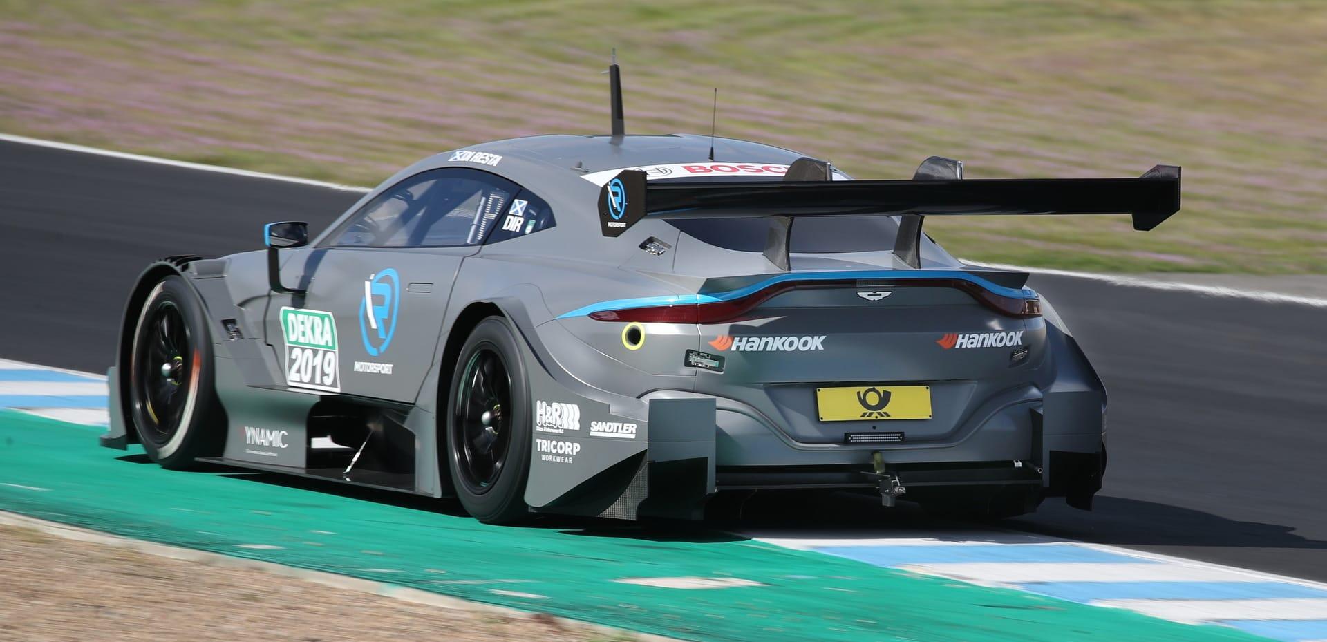 Aston Martin Die Dtm Jungfernfahrt Ist Geglückt