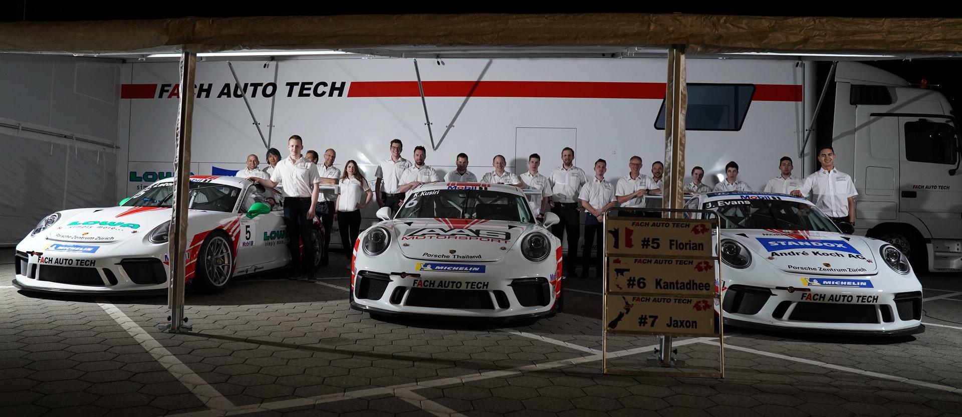 Supercup Fach Auto Tech Mit Drei Neuen Fahrern