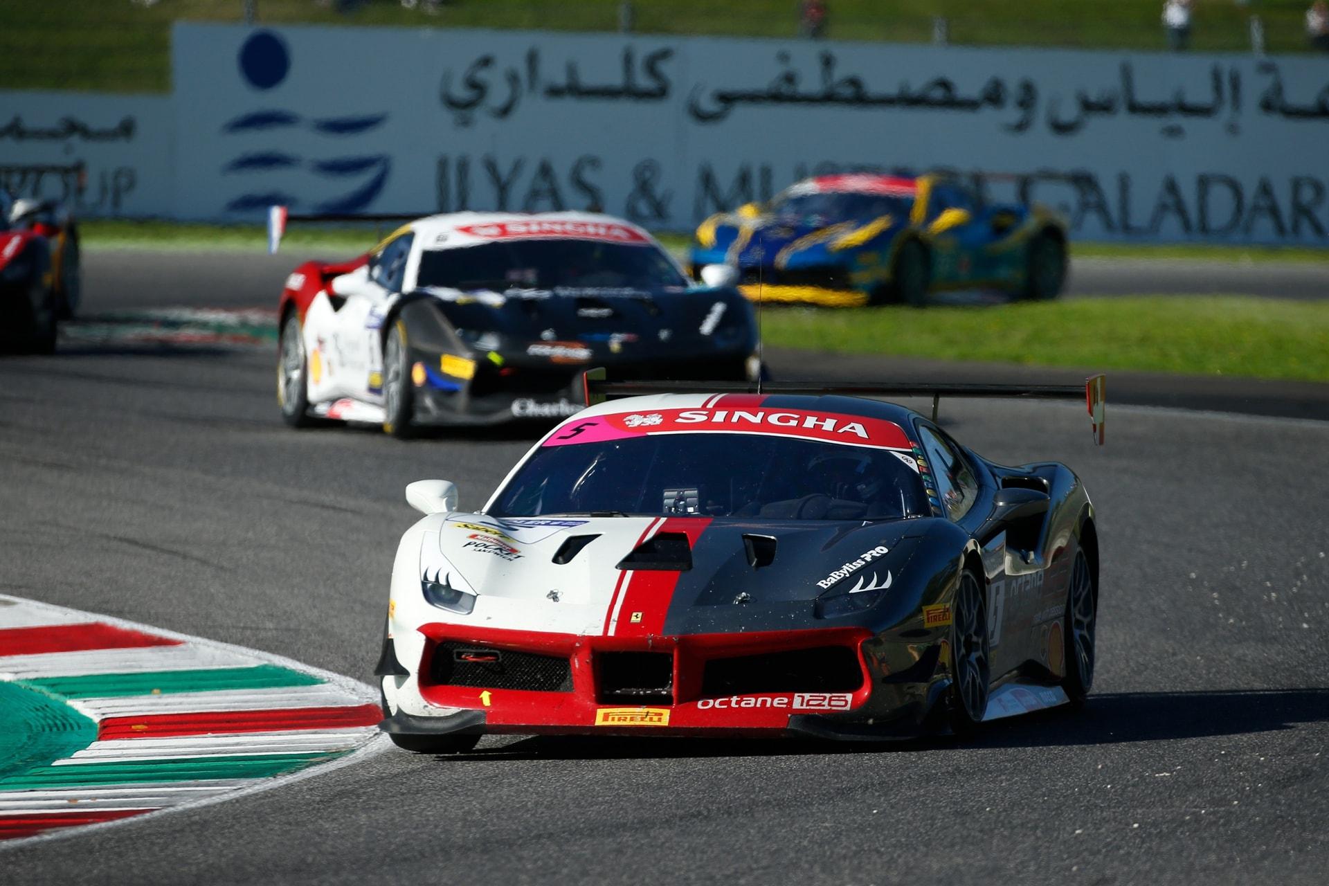 Ferrari Fabienne Wohlwend Meistert Die Challenge